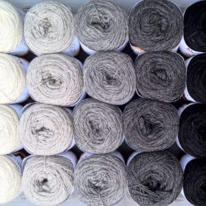 Alpaka Strickwolle aus eigener Zucht